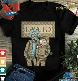 Rick And Morty Shirt Graphic Tee Guc T-shirts men's clothing