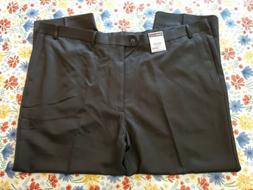 ROUNDTREE & YORKE MEN'S SIZE 50 X 30 TRAVEL SMART FLAT FRONT