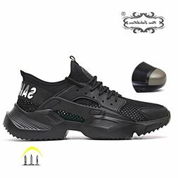 Safety Shoes Work Boots fashion sneakers  Men Breathable Ant