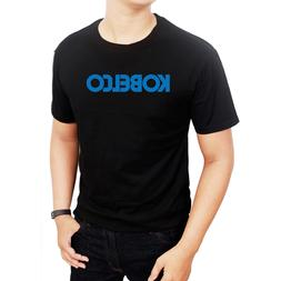 Shirts fashion Clothing kobelco logo Men's T-Shirts Men