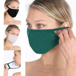 Soft Cotton Face Mask Double Layer Fashionable Reusable Clot