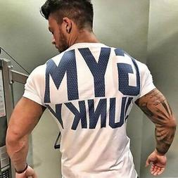 Sports T-shirt Breathable Men's Outdoor Fitness Clothes  Lei
