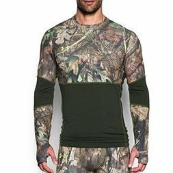 Under Armour Apparel Mens ColdGear Scent Control Crew-  Real