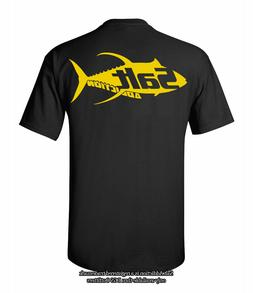 Salt Addiction t shirt short sleeve men's saltwater Yellowfi