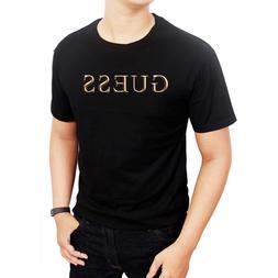 T-Shirts new guess455 logo Men's Clothing Shoes size S M L X