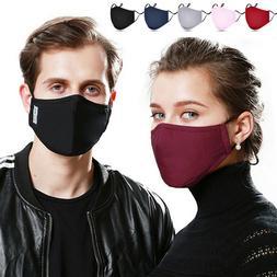 Unisex Face Mask Reusable Washable Cotton Cover Masks Fashio