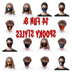 Unisex Face Mask Reusable Washable Cover Masks Style Fashion