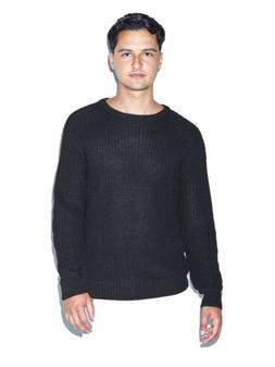 unisex fishermans pullover black mens m