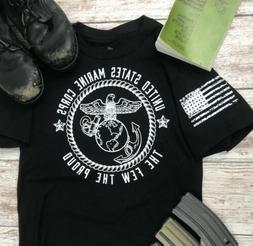 USMC Shirt  Marine Corps Shirt Marines Veteran , Clearance S