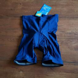 Canari Velo II Mens M or L Cycling Shorts Navy Blue USA Made