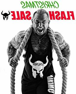 VIKING Men Tank Fitness Workout Summer Top Muscle Clothing G