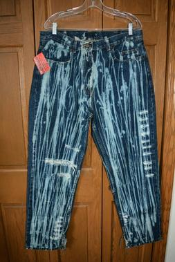 VTG Men's ROCKSTAR ORIGINAL Clothing Jeans  Acid Washed Ripp