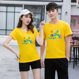 Women men Love clothes Lovers couple T-shirt Together 2020 n
