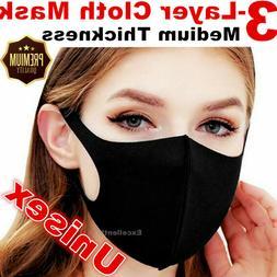 Women Men Unisex Teen Face Masks Clothing Cover Fashion Mask