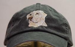 YELLOW LABRADOR RETRIEVER DOG HAT WOMEN MEN CAP Price Embroi